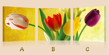 Tulips flowers oil painting reproduction from china