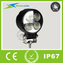 """Factory price 3"""" 12W car driving lights waterproof 4 off road lights promotion WI3121"""