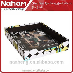 NAHAM Hot Sale Special Design Office Desktop Organizer File Tray