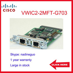 VWIC2-2MFT-G703 refurnished CISCO 2 port T1/E1 network module
