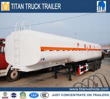TITAN 3 axles ISO/CE/DOT Certification 450000 Liters Fuel Tanker Trailer
