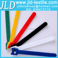 Custom Logos Printed Colored Reusable welcro Cable Ties