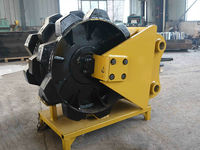 China supplier excavating machine parts wheel compactor for sale