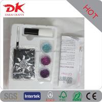 Customized flash shimmer glitter tattoo kits mini heart tattoos