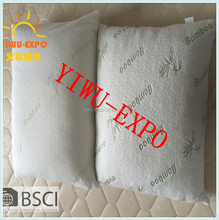 Shredded Memory Foam Pillow - Original Bamboo - Neck, Back and Body Pain Relief - Hotel Luxury Sleep - Contour Side Sleeper
