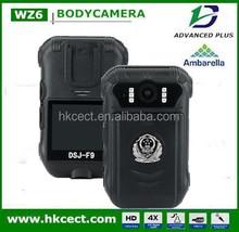 police body worn camera 1080P full HD,dual lens camera body worn camera,12 hours body camera