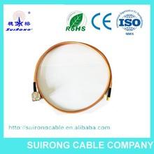 baja pérdida de cable rg316 de telecomunicaciones para la comunicación