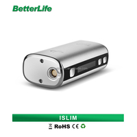 Bullvapor Bulk E cig Box Mod ISLIM 50W Big Capacity 18650 Battery Variable Voltage E Cig