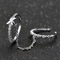 Wholesale silver jewelry wedding ring 925 sterling silver engagement ring