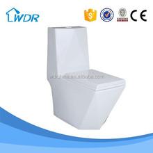 Watersaver bathroom China Sanitary Ware One Piece Toilet