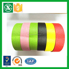 high temperature resistance hot melt rubber adhesive masking tape jumbo roll