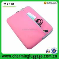 China made high quality colorful neoprene laptop sleeve