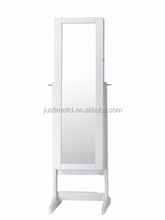 Cosmetic storage ark,Tall white storage cabinet,White MDF storage cabinets