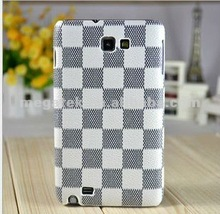 Mobile phone case phone accessories leather skin back cover for Galaxy Note , for samsung galaxy case