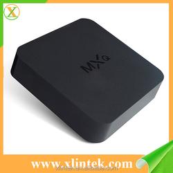 factory amlogic s805 mxq pre-installed Kodi android tv box amlogic s805 mxq quad core