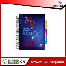 Wholesale A5 Spiral Notebook With Inner Color Pages