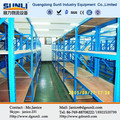 Heavy duty aço rack painel/estantes