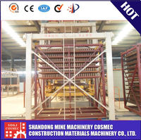 brick making production line / loading and unloading auto machine for wooden pallets