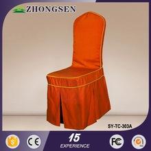 100% poliéster de alta qualidade tampa da cadeira ocidental
