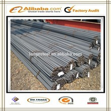 Hebei Tangshan steel product iron bars high quality rebar in bundles
