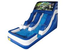 Factory price 0.55mm PVC tarpaulin inflatable water slide
