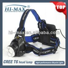 High performance head lamp & bike light/ outdoor activities lights