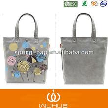 2015 umbrella pattern printing popular canvas shopping handbag