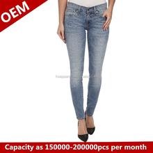 Rhr dame jeans, jeans fabrik/kann angepasst werden alle arten von jeans