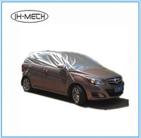 sun protection, UV reflection peva/polyester waterproof top half car cover