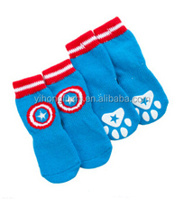 Customized dog knitted shoes/all seasons sock for dogs/cute patterns as you like