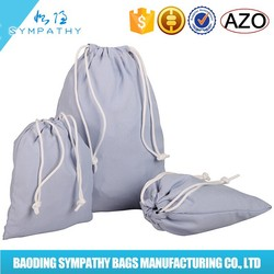 Waterproof nylon personalized drawstring bags for kids