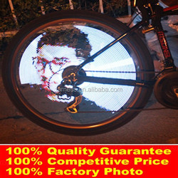 216 Leds DIY 20 Seconds Video Shoot Rechargeable Bicycle Led Light