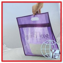 NON WOVEN SEEING THROUGH ONE SIDE DOCUMENT BAG