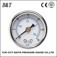 Water pressure gauge lowes with liquid filled