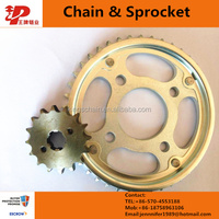motorcycle spare parts from china 520 dirt bike chains and sprockets
