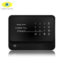 WIFI alarm system first release !! Smart WIFI home security alarm system & wireless IP cameras RFID keypad support alarm system