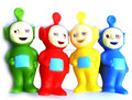 Clássico dos desenhos animados do vinil rotocasting brinquedo, teletubbies macio brinquedo de vinil, oem personalizado pvc vinil brinquedo