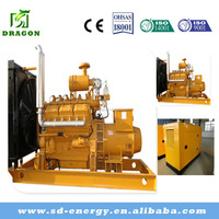CE ISO approve Mini gas power plant 60KW biogas Generator for power electric low heat