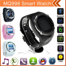 MQ988+ Watch Phone Moble Quad Band Camera 1.5 Touch Screen Sports Wrist Watch Cell Phone Bluetooth,MP3/MP4,FM,E-Book
