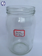 700ml transparent glass jam/pickle jars with twist off cap