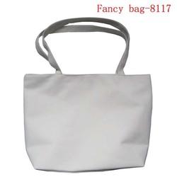 New cheap plain color canvas tote shoulder bag for promotion