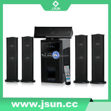 New Model 5.1 Home Theater Speaker Systems With Usb/Sd/Fm/Bluetooth Active Type 5.1 Subwoofer Home Theater DM-6515