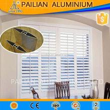 6063 6061 aluminum blind slat,aluminium louver slat,aluminium movable louver shutter with low price