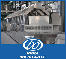 Commercial/Industrial Spice/Condiment/Chinese Date/Grain Microwave Continuous Vacuum Dryer