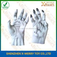X-MERRY Devil 's Hand Prop Deluxe Adult Demon Gloves Halloween Costume Prop