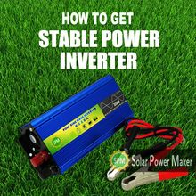 Battery inverter 75w micro portable solar&wind energy inverters/converter