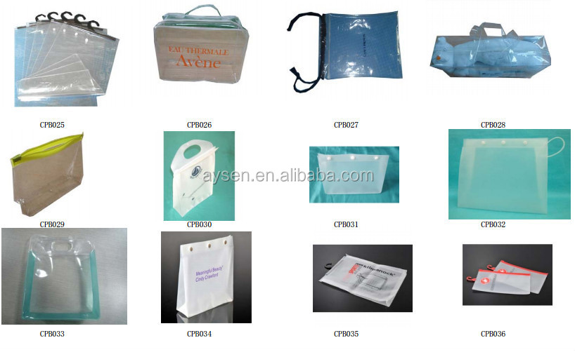 Pvc packaging bolsa de sabana y funda de almohada