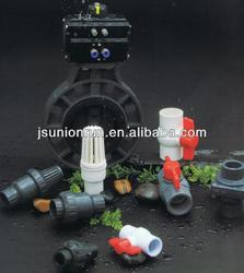 High quality Plastic pvc stem gate valve wholesale with good price