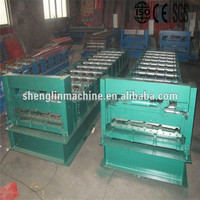 SGS tested cold bending form machine tile press , tile making machine Direct factory in China