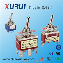 Factory supply 15A toggle switch with UL TUV ROHS Approval